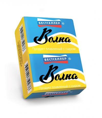 Продукт плавленый с сыром «Волна» ТМ Бестселлер