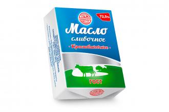 Масло сливочное «Краснобаковское» 72,5%