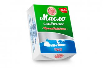 Масло сливочное «Краснобаковское» 82,5%