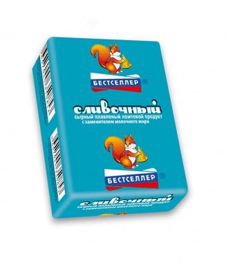 Продукт плавленый с сыром «Сливочный» ТМ Бестселлер