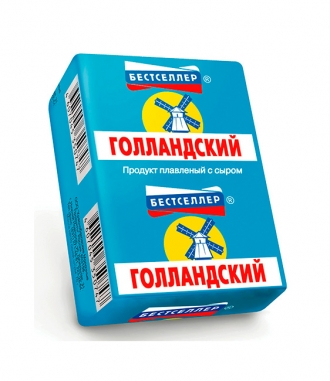 Продукт плавленый с сыром «Голландский» ТМ Бестселлер