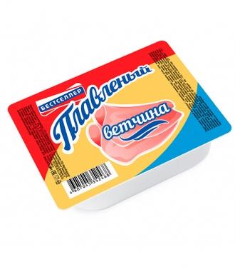 Продукт сырный плавленый с ароматом ветчины ТМ Бестселлер 80 г