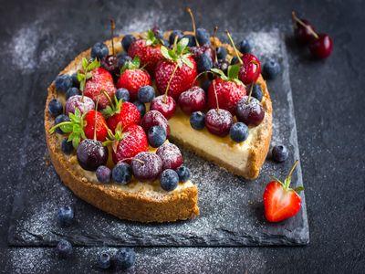 Итальянский пирог из рикотты
